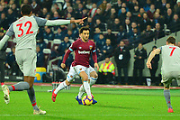 Felipe Anderson during West Ham United vs Liverpool, Premier League Football at The London Stadium on 4th February 2019