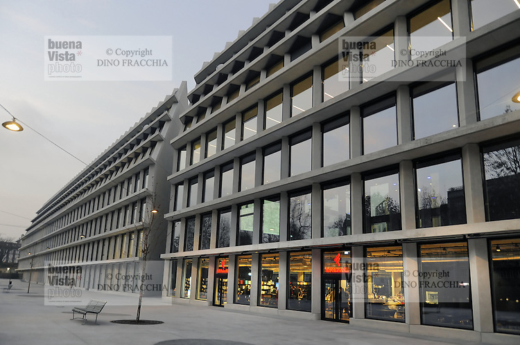- Milano, la nuova sede della Fondazione Feltrinelli a Porta Volta<br />