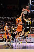 Loncar vs Richotti<br /> Liga Endesa ACB - 2014/15<br /> J15<br /> Valencia Basket vs Iberostar Tenerife