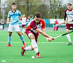 ALMERE - Hockey - Hoofdklasse competitie heren. ALMERE-HGC (0-1) . Patrick Houben (Almere)     COPYRIGHT KOEN SUYK