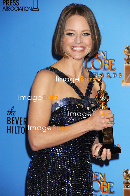 1/13/13.Jodie Foster at the 70th Annual Golden Globe Awards..(Beverly Hills, CA)