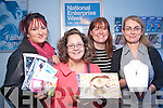 Business people who took part in the Tralee branch of Bank of Ireland's show your Business Week on Friday from left Kay Hurley, Horan Health Store, Deirdre Power, Cupcakes by Dee, Jenifer Reidy and Deirdre Moynihan Brian De Staic.