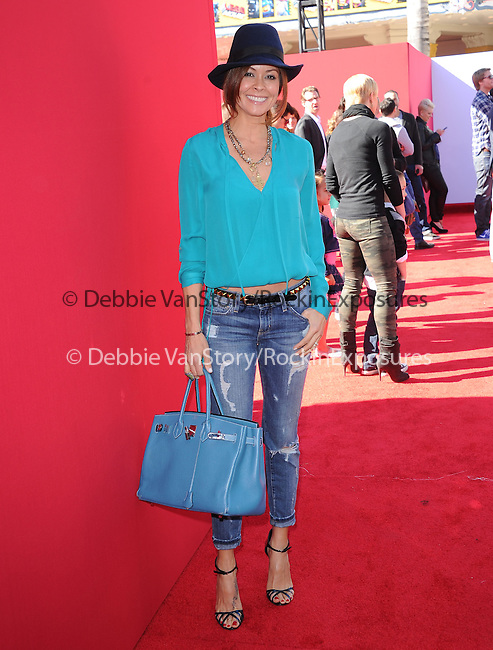 Brooke Burke Charvet attends The Warner Bros' Pictures L.A. Premiere of The Lego Movie held at The Regency Village in Westwood, California on February 01,2014                                                                               © 2014 Hollywood Press Agency