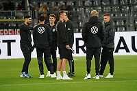 Deutsche Mannschaft im Innenraum mit Luca Waldschmidt (Deutschland Germany), Marco Reus (Deutschland, Germany), Julian Brandt (Deutschland Germany),Joshua Kimmich (Deutschland Germany) - 09.10.2019: Deutschland vs. Argentinien, Signal Iduna Park, Freunschaftsspiel<br /> DISCLAIMER: DFB regulations prohibit any use of photographs as image sequences and/or quasi-video.