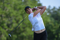 Karine Icher (FRA) watches her tee shot on 2 during round 1 of the 2019 US Women's Open, Charleston Country Club, Charleston, South Carolina,  USA. 5/30/2019.<br /> Picture: Golffile | Ken Murray<br /> <br /> All photo usage must carry mandatory copyright credit (© Golffile | Ken Murray)