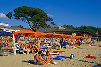 am Strand von Lacona, Elba, Italien