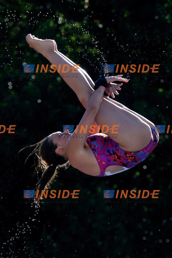 Flavia Pallotta <br /> 10m piattaforma donne <br /> Roma 20-06-2016 Stadio del Nuoto Foro Italico Tuffi Campionati Italiani <br /> Foto Andrea Staccioli Insidefoto