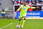 07.10.2018, wirsol Rhein-Neckar-Arena, Sinsheim, GER, 1 FBL, TSG 1899 Hoffenheim vs Eintracht Frankfurt, <br /><br />DFL REGULATIONS PROHIBIT ANY USE OF PHOTOGRAPHS AS IMAGE SEQUENCES AND/OR QUASI-VIDEO.<br /><br />im Bild: Oliver Baumann (TSG Hoffenheim #1)<br /><br />Foto &copy; nordphoto / Fabisch