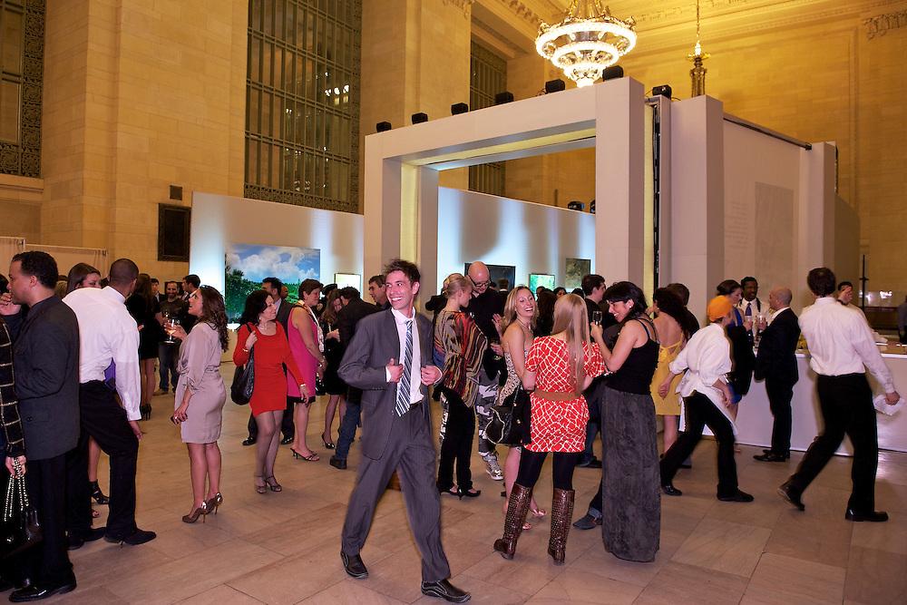 Party at Vanderbilt Hall, Grand Central Station