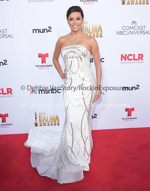 Eva Longoria attends The 2014 NCLR Alma Awards held at The Pasadena Civic Center in Pasadena, California on October 10,2014                                                                               © 2014 Hollywood Press Agency