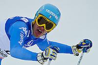 09.02.2013, Planai, Schladming, AUT, FIS Weltmeisterschaften Ski Alpin, Abfahrt, Herren, im Bild Christof Innerhofer (ITA) // Christof Innerhofer of Italy after Mens Downhill at the FIS Ski World Championships 2013 at the Planai Course, Schladming, Austria on 2013/02/09. EXPA Pictures © 2013, PhotoCredit: EXPA/ Sandro Zangrando .Schladming 9/2/2013 .Mondiali Sci 2013.Discesa Libera Uomini .Foto Insidefoto - ITALY ONLY