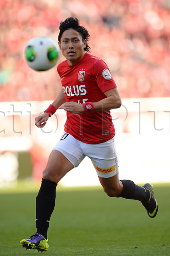 23.11.2013 Saitama, Japan.  Ryota Moriwaki (Reds), Japan League Division 1 match between Urawa Reds 1-3 Kawasaki Frontale at Saitama Stadium 2002, Saitama, Japan.