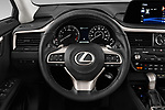 Car pictures of steering wheel view of a 2020 Lexus RX 350 5 Door SUV