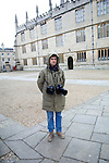 Geraint Lewis outside the Sheldonian Theatre during the Sunday Times Oxford Literary Festival, UK, 16 - 24 March 2013. <br />