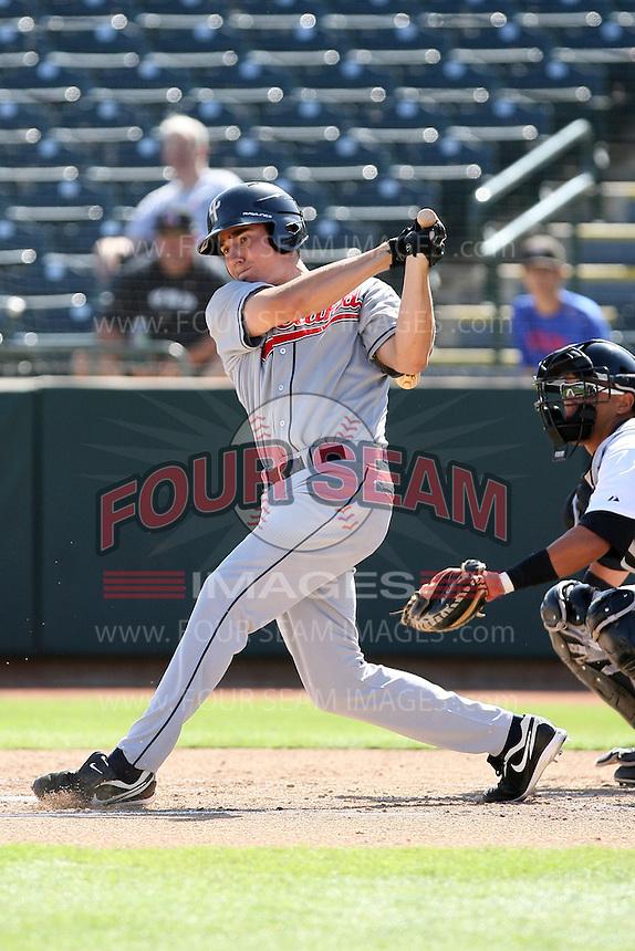 Matt McBride - Peoria Saguaros, 2009 Arizona Fall League.Photo by:  Bill Mitchell/Four Seam Images..