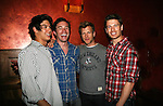 As The World Turns' Ben Levin - Tom Pelphrey - Todd Rotondi - Jon Prescott at Trent Dawson's 6th Annual Martinis With Henry on April 17, 2010 at Latitude, New York City, New York. (Photo by Sue Coflin/Max Photos)