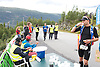 Race number 205 -  Ernst Olav Botnen.Race number 163 - Nicolas Gregoire - Norseman 2012 - Photo by Justin Mckie Justinmckie@hotmail.com
