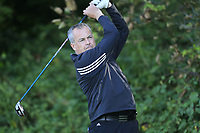 Pat Murray (Clontarf)  during the final of the Irish Mid-Amateur Open Championship, Royal Belfast Golf CLub, Hollywood, Down, Ireland. 29/09/2019.<br /> Picture Fran Caffrey / Golffile.ie<br /> <br /> All photo usage must carry mandatory copyright credit (© Golffile   Fran Caffrey)