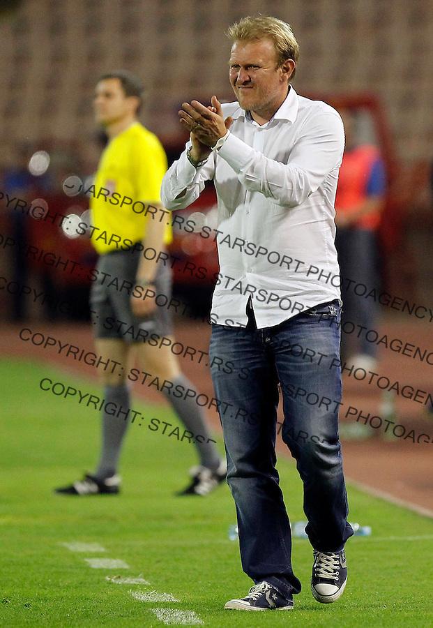 Fudbal, Jelen super liga, sezona 2011/12.Crvena Zvezda VS. Rad.Head coach Robert Prosinecki.Belgrade, 12.05.2012..foto: Srdjan Stevanovic/Starsportphoto ©