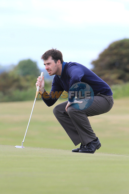 Des Morgan (Mullingar) on the first round of the final day at the East of Ireland Amateur Open Championship 2011 in Co.Louth Golf Club...(Photo credit should read Jenny Matthews www.newsfile.ie)....This Picture has been sent you under the conditions enclosed by:.Newsfile Ltd..The Studio,.Millmount Abbey,.Drogheda,.Co Meath..Ireland..Tel: +353(0)41-9871240.Fax: +353(0)41-9871260.GSM: +353(0)86-2500958.email: pictures@newsfile.ie.www.newsfile.ie.
