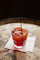 Richard Bacchus and the Negroni cocktail at Tir Na Nog Irish Pub in Raleigh, N.C. on Monday, March 30, 2015. (Justin Cook)