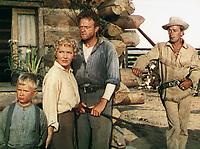 Shane (1953) <br /> Alan Ladd, Jean Arthur, Van Heflin &amp; Brandon De Wilde<br /> *Filmstill - Editorial Use Only*<br /> CAP/KFS<br /> Image supplied by Capital Pictures