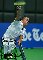 19-12-13,Netherlands, Rotterdam,  Topsportcentrum, Tennis Masters, ,Carlos Anker (NED)<br /> Photo: Henk Koster