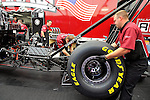 May 15, 2009; 4:09:19 PM; Bristol, Tn., USA; The NHRA Thunder Valley Nationals at the Bristol Dragway.  Mandatory Credit: (thesportswire.net)