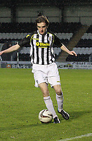 Kieran Doran in the St Mirren v Celtic Scottish Professional Football League Under 20 match played at St Mirren Park, Paisley on 30.4.14.