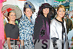 Pictured at Listowel Races, Ladies Day on Friday  from left: Maria Stack (Listowel), Colette Stack (Listowel), Kathleen Sheehy (Asdee), Fiona Keane (Lisselton).