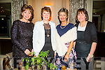 Ladies night out at the Lee Strand Social in Ballygarry House Hotel & Spa,Tralee on saturday night, Mary Mangan,Esther O'Sullivan,Catherine Dwyer and Doreen Pierce.