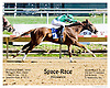 Space Race winning at Delaware Park on 9/19/12