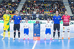 Jaen P. Interior Antonio Manuel Sanchez and Rios R. Zaragoza Carlos Retamar during Semi-Finals Futsal Spanish Cup 2018 at Wizink Center in Madrid , Spain. March 17, 2018. (ALTERPHOTOS/Borja B.Hojas)