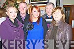 Enjoying their Christmas party in Darby O'Gills, Killarney on Friday night were Gillian McCarthy, Sean Cronin, Anne Keane, Pat Muclennan and Ann Nolan.