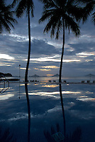 THE SUREAL POOL,RESORT, PALAU, MICRONESIA