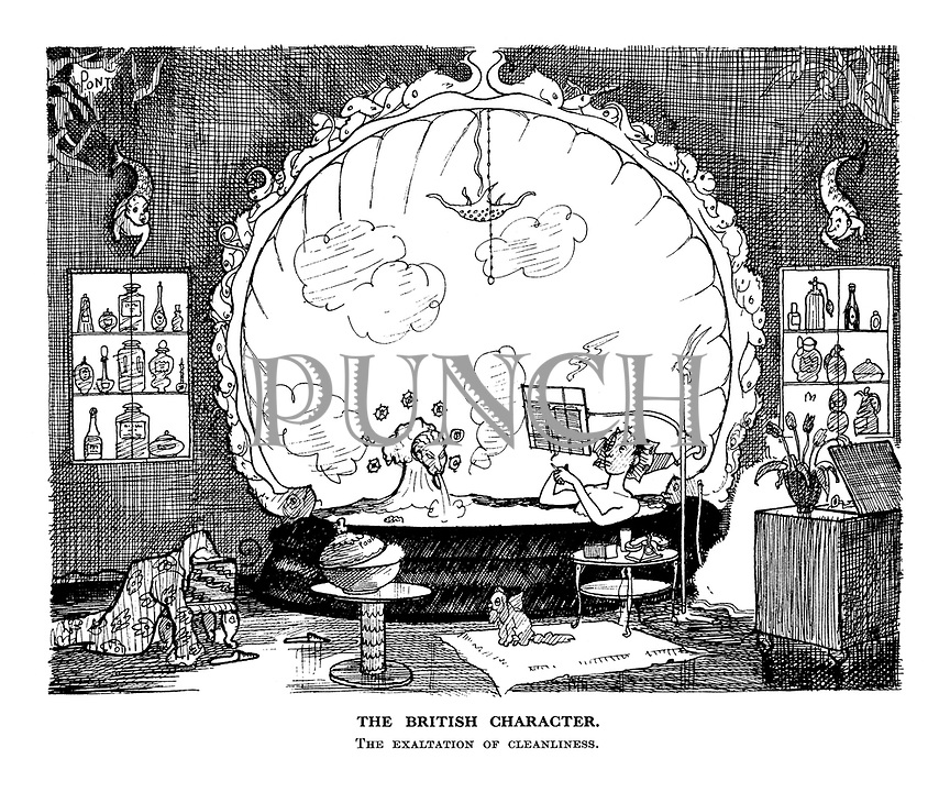 The British Character. The Exaltation of Cleanliness.