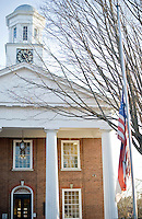 The old courthouse in Hillsborough, NC.