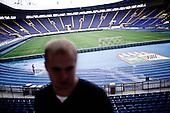 Kharkov 28.08.2010 Ukraine.<br /> Local stadium of FC Metalist football club.<br /> Kharkov prepares for the UEFA European Football Championships EURO 2012. Many problems affecting the city, lack of maintenance, lack of hotel accommodation and also problems with electricity. Stadium Metalist Kharkiv - One of the main four of Ukrainian stadiums of Euro 2012 is not modernized. Playmaker club matches at the stadium is Metalist Kharkiv.<br /> Photo: Adam Lach / Napo Images<br /> <br /> Stadion lokalnego klubu pilkarskiego FC Metalist.<br /> Charkow przygotowuje sie do Mistrzostw Europy w Pilce noznej Euro 2012. Wiele problemow dotyka miasto, brak remontow, brak bazy hotelowej a ponadto problemy z elektrycznoscia.  Stadion Metalist w Charkowie - Jeden z czterech podstawowych Ukrainskich stadionow zwiazanych z Euro 2012 nie jest modernizowany. Klubem rozgrywajacym mecze na tym stadionie jest Metalist Charkow.<br /> Fot: Adam Lach / Napo Images