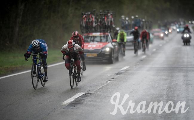 speeding through the foul weather<br /> <br /> 105th Liège-Bastogne-Liège 2019 (1.UWT)<br /> One day race from Liège to Liège (256km)<br /> <br /> ©kramon