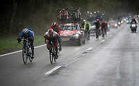 speeding through the foul weather<br /> <br /> 105th Liège-Bastogne-Liège 2019 (1.UWT)<br /> One day race from Liège to Liège (256km)<br /> <br /> ©kramon