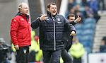 07.04.2018 Rangers v Dundee:<br /> Graeme Murty