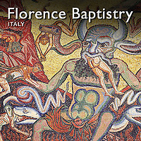 Pictures of the Baptistry of Florence Duomo Mosaics and Door. Photos & Images