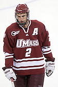 Martin Nolet (UMass - 2) - The Boston College Eagles defeated the University of Massachusetts-Amherst Minutemen 2-1 (OT) on Friday, February 26, 2010, at Conte Forum in Chestnut Hill, Massachusetts.