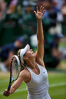 England, London, 28.06.2014. Tennis, Wimbledon, AELTC, Maria Sharapova (RUS)<br /> Photo: Tennisimages/Henk Koster