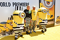 Pharrell Williams &amp; Helen Lasichanh at the world premiere for &quot;Despicable Me 3&quot; at the Shrine Auditorium, Los Angeles, USA 24 June  2017<br /> Picture: Paul Smith/Featureflash/SilverHub 0208 004 5359 sales@silverhubmedia.com