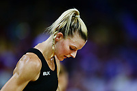 Katrina Grant of New Zealand reacts. Gold Coast 2018 Commonwealth Games, Netball, New Zealand Silver Ferns v England, Gold Coast Convention and Exhibition Centre, Gold Coast, Australia. 11 April 2018 © Copyright Photo: Anthony Au-Yeung / www.photosport.nz /SWpix.com