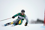 9 MAR 2011: Kevin Drury of the University of Vermont competes in the men's giant slalom alpine race during the 2011 NCAA Men and Women's Division I Skiing Championship held Stowe Mountain Resort and Trapp Family Lodge in Stowe, VT. Drury finished 2nd to take silver. ©Brett Wilhelm/NCAA Photos