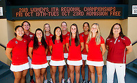 The Stanford Womens Tennis Team. Photo taken on Monday, September 23, 2013.