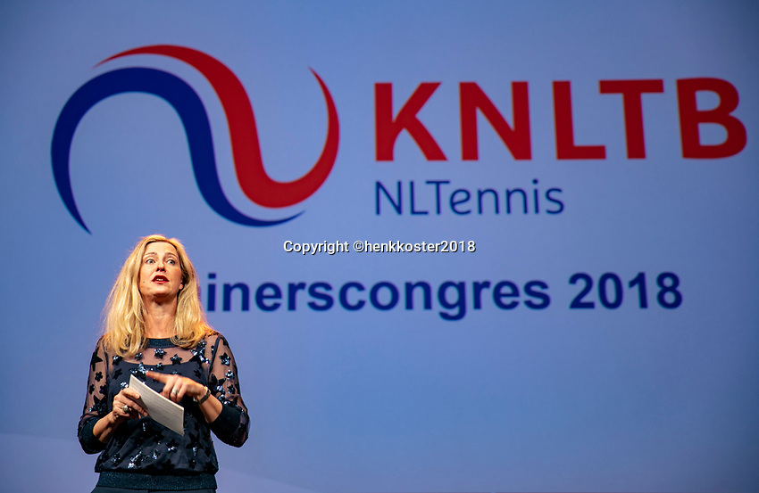 Nieuwegein,  Netherlands, 9 November 2018, Coaches congress KNLTB, Kristy Boogert<br /> Photo: Tennisimages.com/Henk Koster