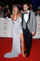 LONDON, UK. January 22, 2019: Charlotte Crosby at the National TV Awards 2019 at the O2 Arena, London.<br /> Picture: Steve Vas/Featureflash